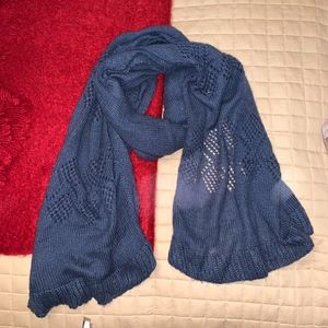 Accessories - navy blue scarf